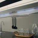 Réglette LED en applique avec interrupteur
