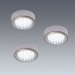 Kit 3 Spots LED en applique diam 58mm
