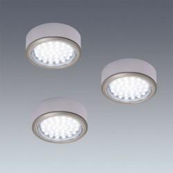 Kit 3 Spots LED en applique diam 58mm