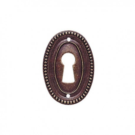 Entrée de meuble Louis XVI bronzé