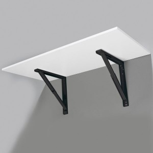 Support De Table Rabattable Blanc Noir Gris Ou Inox