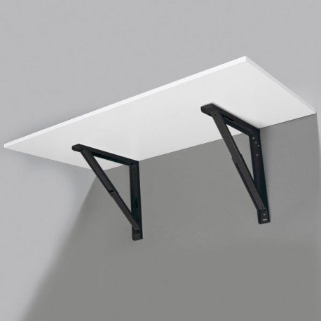 Support de table repliable noir