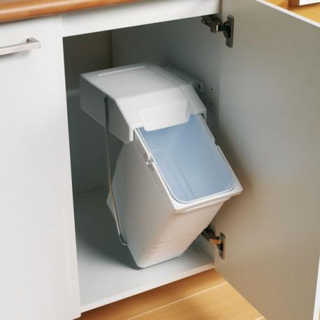 poubelle basculante 8 litres