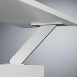Console de snack aluminium AUSTIN surélevée