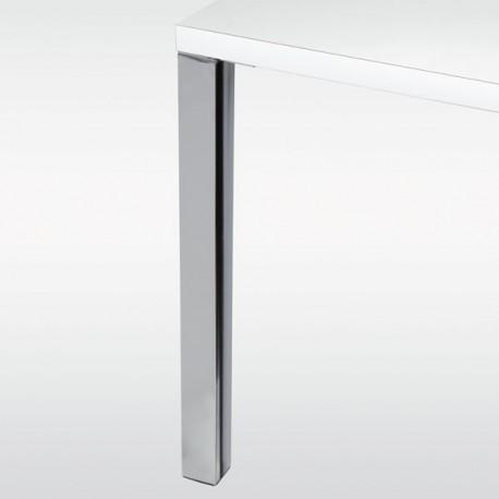 Set de 4 pieds de table carré 60 x 60 - hauteur 710 mm