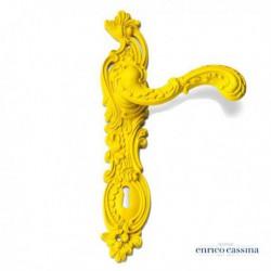Poignée de porte Rococo Pop jaune