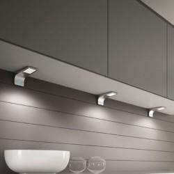 Kit 3 spots LED design en applique