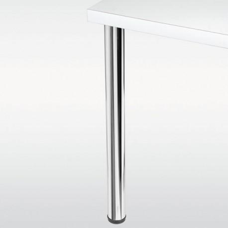 Pied de table rond CHESTER hauteur 870mm, diamètre 60mm