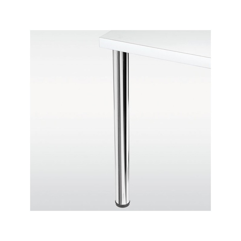 Pied de table rond 60 mm hauteur 870 mm - Pied de table metallique ...
