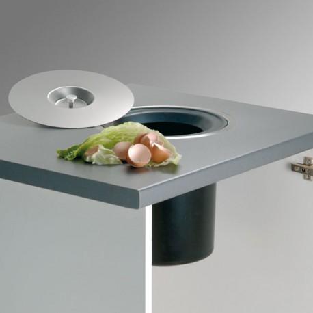 poubelle 13 litres pour plan de travail. Black Bedroom Furniture Sets. Home Design Ideas