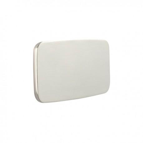 Bouton  de meuble look inox Button