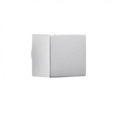 bouton de meuble chrom cube