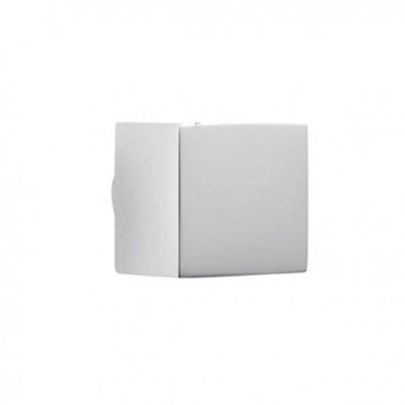 Bouton de meuble chromé cube