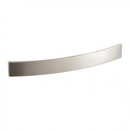 Poignée de meuble look inox Stripe