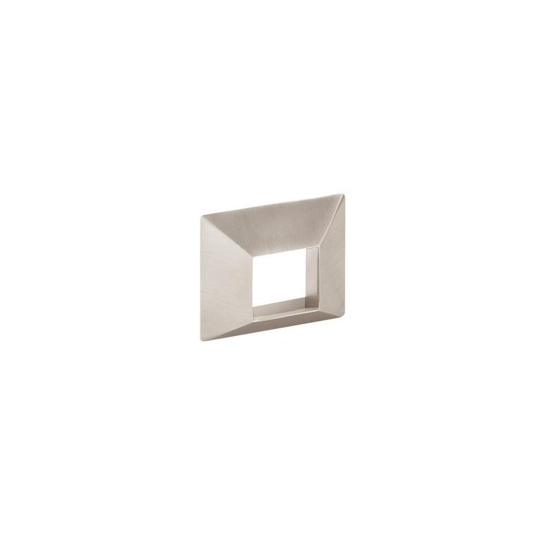 Poign e de meuble look inox inlay for Panneaux muraux inox