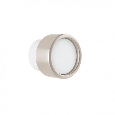 Bouton de meuble Piston blanc