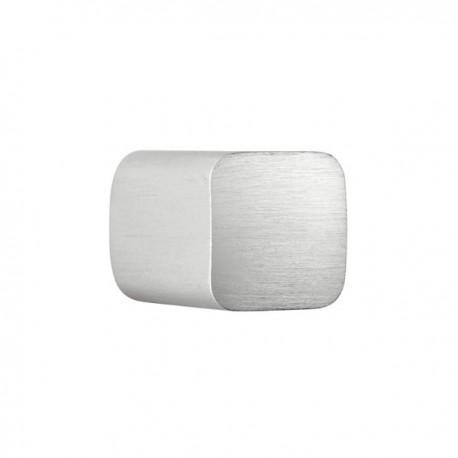 Bouton de meuble aluminium Bin