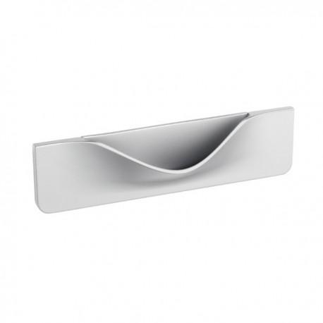 Poignée de meuble look aluminium Smile