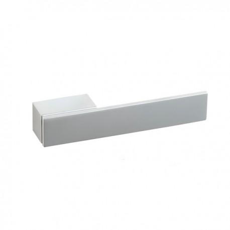 Poignée de meuble look aluminium Fifth