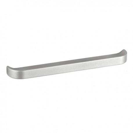Poignée de meuble look aluminium Dandy
