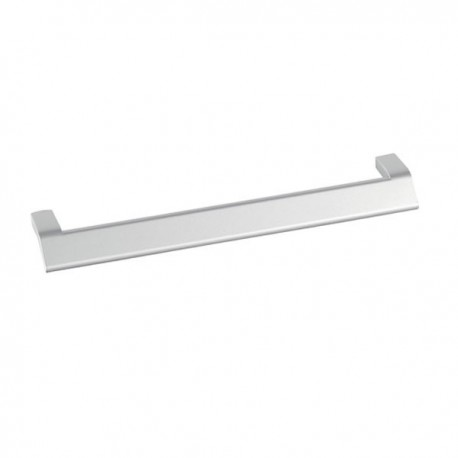 Poignée de meuble look aluminium Massimo