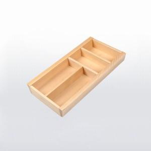Range-couverts bois pour tiroir de 300 mm de large