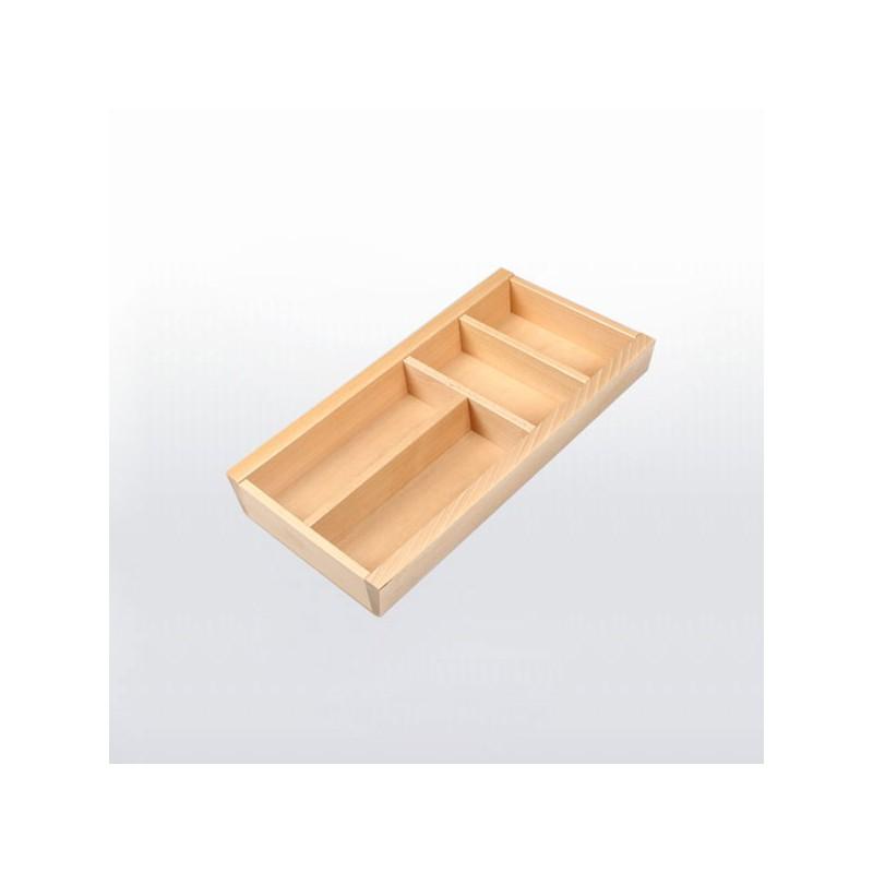 range couverts bois pour tiroir de 300 mm de large. Black Bedroom Furniture Sets. Home Design Ideas