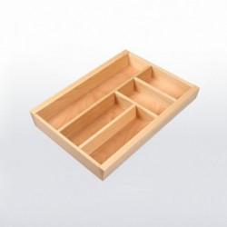 Range-couverts bois pour tiroir de 400 mm de large