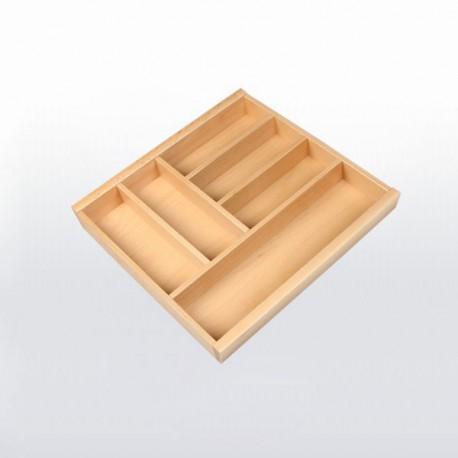Range-couverts bois pour tiroir de 450 mm de large