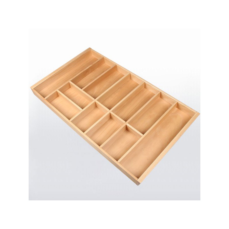 range couverts bois pour tiroir de 900 mm de large. Black Bedroom Furniture Sets. Home Design Ideas