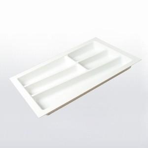 Range couverts et ustensiles plastique tiroir meuble de cuisine - Range couvert tiroir ...