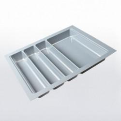 Range-couverts gris pour tiroir de 450 mm