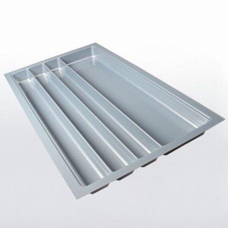 Range-couverts gris pour tiroir de 900 mm