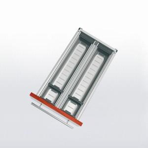 Range-couverts inox pour tiroir de 300 à 350 mm