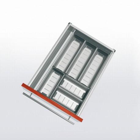 Range-couverts inox pour tiroir de 400 à 450 mm