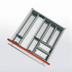 Range-couverts inox pour tiroir de 600 mm