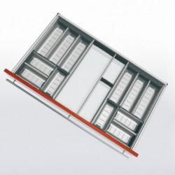 Range-couverts inox pour tiroir de 900 mm
