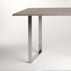 Pied de table p ninsule pour table de cuisine ou plan de - Pied de table de cuisine ...