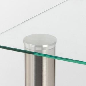 Fixation verre pour pied diamètre 60 mm