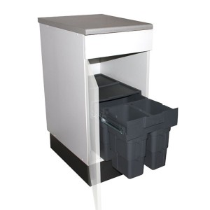 poubelles encastrables cuisine 30 litres sous vier. Black Bedroom Furniture Sets. Home Design Ideas