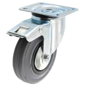 Roulette pivotante Ø 125 mm