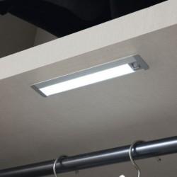 Eclairage dressing avec détecteur de mouvement, 12V, à encastrer