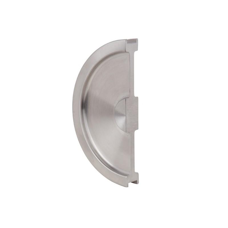 poign e demi lune pour porte coulissante en verre ForDemi Porte Coulissante