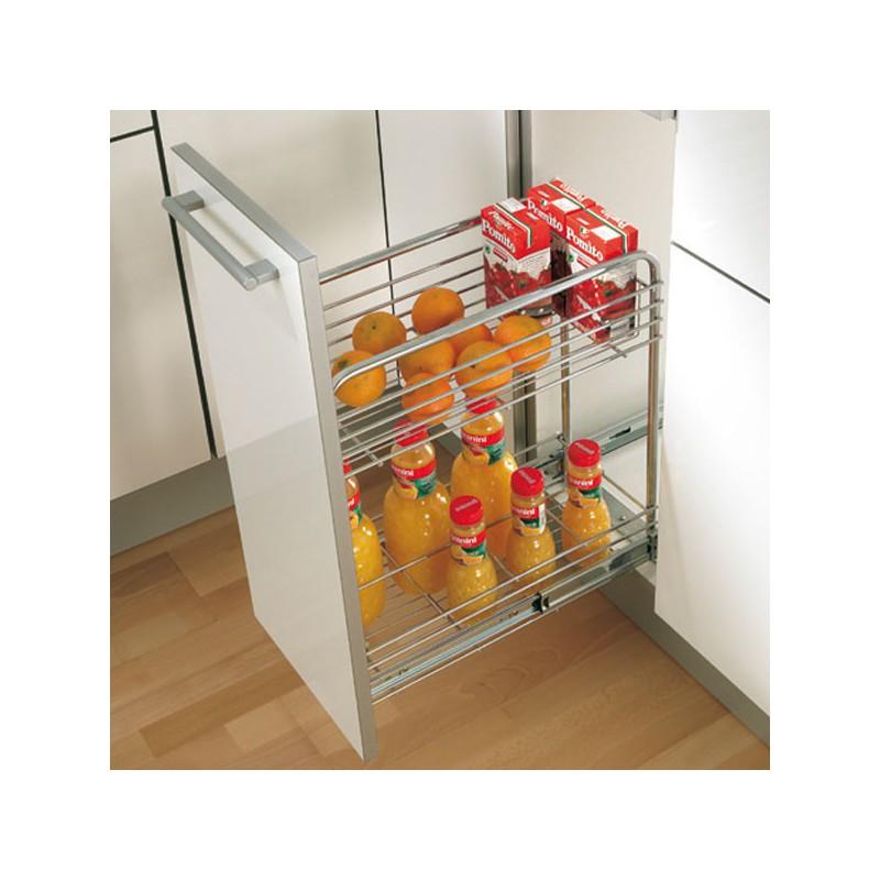 Element de cuisine range bouteilles meuble de rangement for Element rangement cuisine
