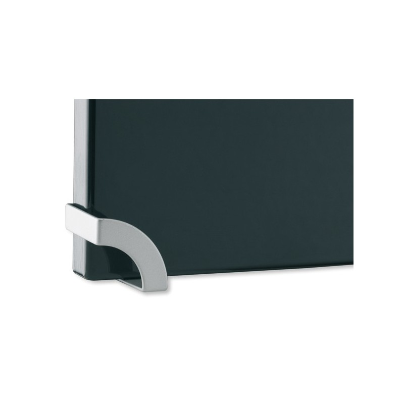 bouton de meuble look aluminium angle. Black Bedroom Furniture Sets. Home Design Ideas