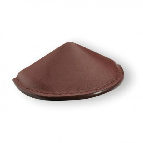 Poignée de meuble cuir CHINA marron foncé, marron clair ou noir