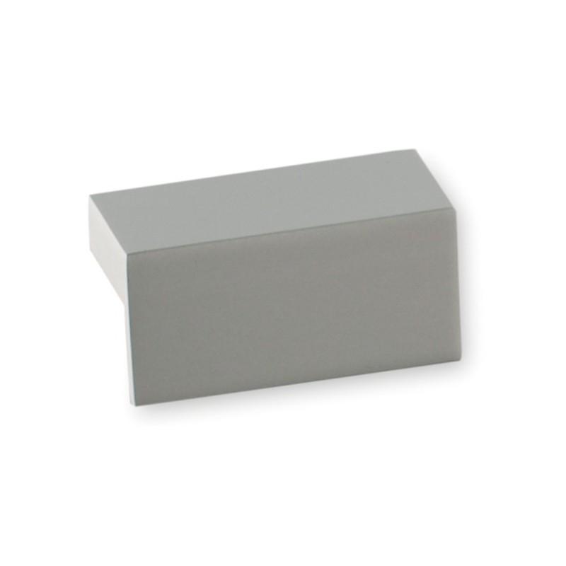 poign e de meuble aluminium quadra. Black Bedroom Furniture Sets. Home Design Ideas
