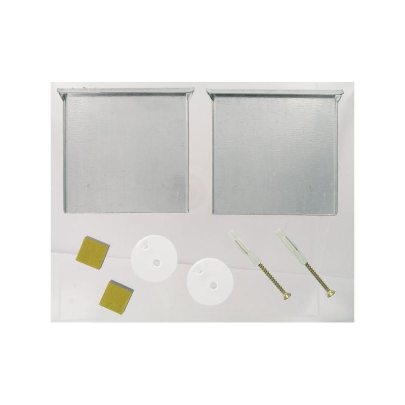 fixation invisible pour miroir. Black Bedroom Furniture Sets. Home Design Ideas