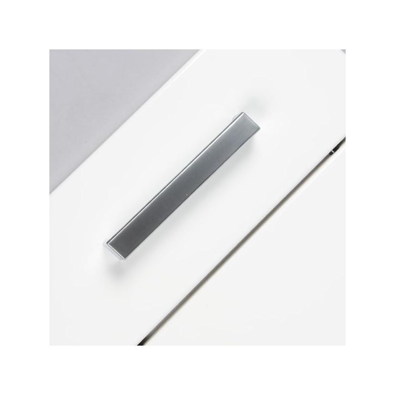 Poign e cuisine look aluminium forme droite for Aluminium cuisine