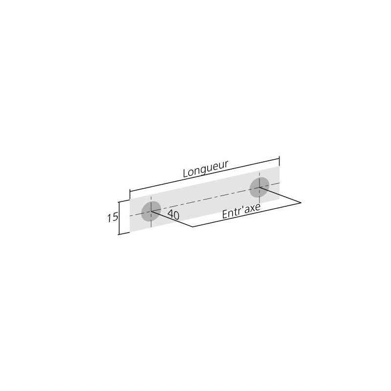 poignée de meuble inox brossé carrée - ilovedetails - Meuble Cuisine Inox Brosse